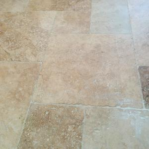 Travertin Marbre pierre naturelle opus multiformat 20x20 20x40 40x40 40x60 beige mix en premier et second choix
