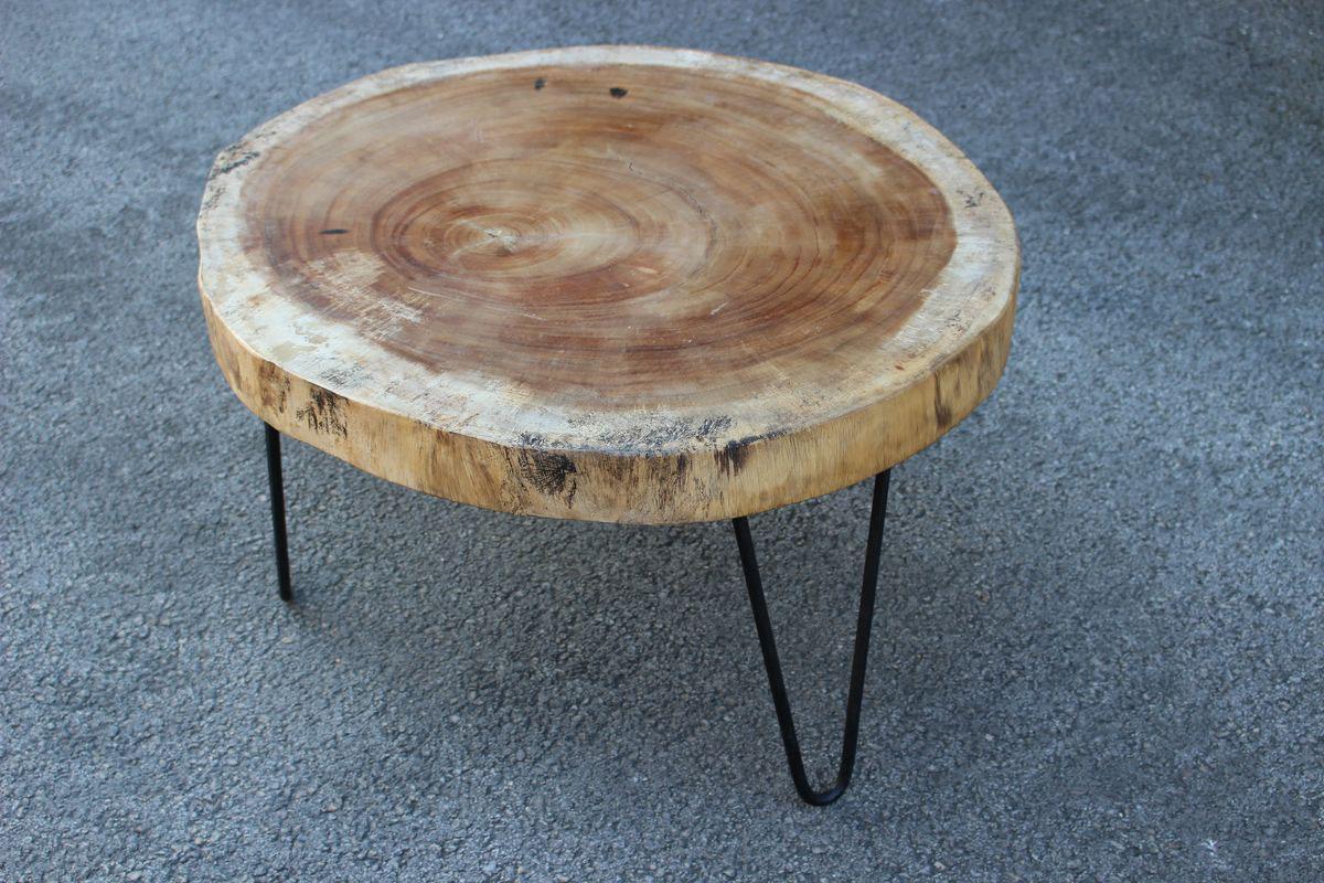Table Basse Avec Souche D Arbre mercier carrelages | table basse circulaire en suar 3 pieds